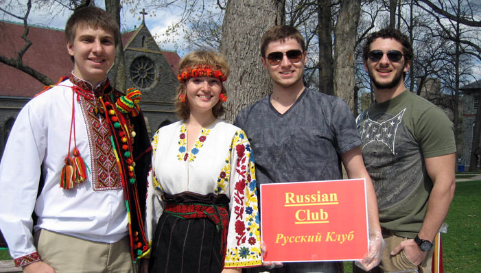 Lehigh University Modern Languages and Literature - Member's of the Lehigh University Russian Club